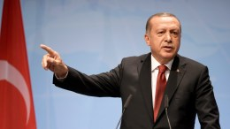 FILE PHOTO. Turkish President Recep Tayyip Erdogan responds to a question at the closing press conference of the G-20 summit in Hamburg, Germany. EPA, CLEMENS BILAN