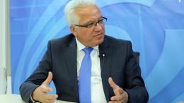 Ο υπουργός Δικαιοσύνης και Δημοσίας Τάξεως της Κύπρου, Ιωνάς Νικολάου. Φωτογραφία: ΚΥΠΕ.