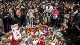 Περισσότεροι από 100.000 άνθρωποι συμμετείχαν στη διαδήλωση κατά της τρομοκρατίας στη Βαρκελώνη. FILE PHOTO. EPA/QUIQUE GARCIA