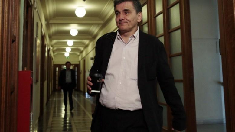 Ο υπουργός Οικονομικών, Ευκλείδης Τσακαλώτος. ΑΠΕ-ΜΠΕ/ΑΛΕΞΑΝΔΡΟΣ ΒΛΑΧΟΣ.