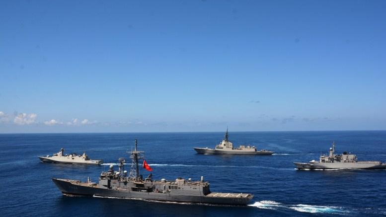 Προκαλεί και πάλι η Τουρκία με ασκήσεις στο Αιγαίο και στην κυπριακή ΑΟΖ. Φωτογραφία Turkish Navy.