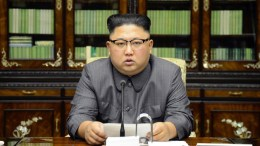 File Photo: A photo released by the North Korean Central News Agency (KCNA), the state news agency of North Korea, shows North Korean Supreme Leader Kim Jong-un delivering a speech in Pyongyang, North Korea, 21 September 2017 (issued 22 September 2017). The North Korean leader released a statement on the day vowing to make US President Donald J. Trump 'pay dearly' for threatening North Korea in remarks he made during the 72nd United Nations General Assembly held in New York, USA. President Trump, during the assembly on 19 September 2017, vowed to 'totally destroy' North Korea if it posed threats to the USA and its allies.  EPA/KCNA   EDITORIAL USE ONLY