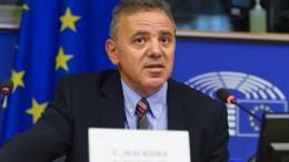 Ο ευρωβουλευτής Κώστας Μαυρίδης. Φωτογραφία από το αρχείο του