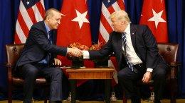 File Photo: Ο Πρόεδρος Τραμπ και ο ισλαμιστής ηγέτης της Τουρκίας Ερντογάν. Φωτογραφία Τουρκική Προεδρία