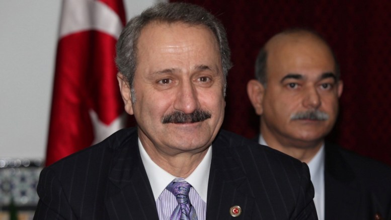 A file photo showing then Turkish Trade Minister Zafer Caglayan. EPA/STRINGER