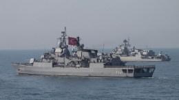 Τουρκικά πολέμικά πλοία. Φωτογραφία Turkish Navy.