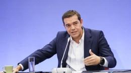 Ο πρωθυπουργός Αλέξης Τσίπρας. ΑΠΕ ΜΠΕ/PIXEL/ΜΠΑΡΜΠΑΡΟΥΣΗΣ ΣΩΤΗΡΗΣ