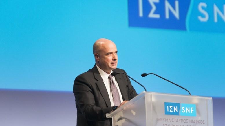 Ο Ανδρέας Δρακόπουλος. Φωτογραφία Ίδρυμα Νιάρχος