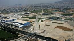 Oι εγκαταστάσεις του πρώην Αεροδρομίου Αθηνών στο Ελληνικό. ΑΠΕ-ΜΠΕ/ΠΑΝΤΕΛΗΣ ΣΑΙΤΑΣ