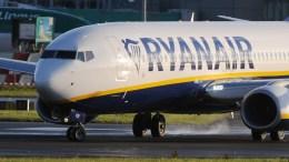 FILE PHOTO. Έκτακτη προσγείωση αεροσκάφους στο Stansted υπό τη συνοδεία μαχητικών. EPA/AIDAN CRAWLEY