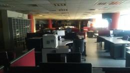 Τα γραφεία του Mega θα παραμείνουν για πάντα κλειστά; Φωτογραφία www.mignatiou.com