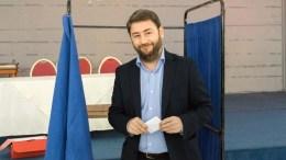 Ο υποψήφιος για την ηγεσία του νέου ενιαίου φορέα της Κεντροαριστεράς, Νίκος Ανδρουλάκης.  ΑΠΕ-ΜΠΕ, ΕΛΕΥΘΕΡΙΟΣ ΔΑΜΙΑΝΙΔΗΣ