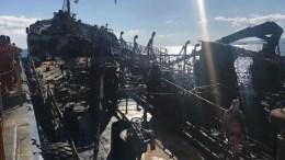 Ολοκληρώνεται εντός της ημέρας η ανέλκυση του «Αγία Ζώνη ΙΙ». Το πλοίο θα οδηγηθεί στα ναυπηγεία στα Αμπελάκια Σαλαμίνας και θα φυλάσσεται επί 24ωρου βάσεως. AΠΕ-ΜΠΕ