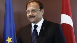 Ο αντιπρόεδρος της κυβέρνησης της Τουρκίας Χακάν Τσαβούσογλου. ΑΠΕ-ΜΠΕ/ΑΛΕΞΑΝΔΡΟΣ ΒΛΑΧΟΣ