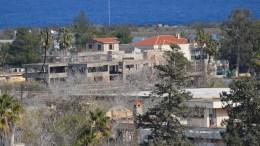 Φωτογραφία της περίκλειστης και ακατοίκητης για 43 χρόνια περιοχής της Αμμοχώστου. Αρ. Βικέτος, ΑΠΕ-ΜΠΕ.