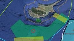 Η ΑΟΖ της Κύπρου.