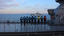 Πλοίo του τουρκικού Πολεμικού Ναυτικού. Φωτογραφία ΤΟΥΡΚΙΚΟ ΝΑΥΤΙΚΟ