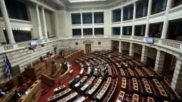 Γενική άποψη από την Ολομέλεια της Βουλής. ΑΠΕ-ΜΠΕ, ΣΥΜΕΛΑ ΠΑΝΤΖΑΡΤΖΗ