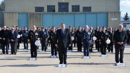 Ο υπουργός Εθνικής Άμυνας Πάνος Καμμένος παρέστη στα εγκαίνια της Διοίκησης Αεροπορίας Ναυτικού που πραγματοποιήθηκαν στην 112 Πτέρυγα Μάχης στην Ελευσίνα, Τρίτη 23 Ιανουαρίου 2018. ΑΠΕ-ΜΠΕ, ΓΡΑΦΕΙΟ ΤΥΠΟΥ ΥΠΕΘΑ, STR