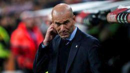 O προπονητής της Ρεάλ Μαδρίτης Ζινεντίν Ζιντάν. Φωτογραφία ΑΠΕ-ΜΠΕ