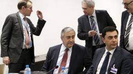 Ο Ελληνοκύπριος διαπραγματευτής δήλωσε ότι «τα Ηνωμένα Έθνη δεν επανήλθαν για να μας πουν ότι πράγματι επέστρεψαν τον χάρτη στον κ. Ακιντζί».  Φωτογραφία ΚΥΠΕ