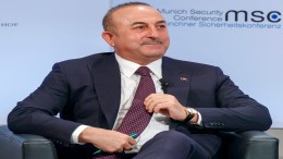 Mevluet Cavusoglu, Minister of Foreign Affairs of Turkey.  18 February 2018. EPA, RONALD WITTEK