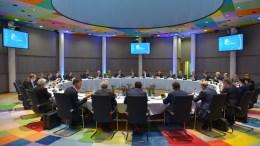 Οι ηγέτες της ΕΕ κατά τη διάρκεια της Συνόδου Κορυφής Πηγή: EU