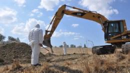 Τα λείψανα δύο αγνοουμένων εντόπισαν επιστήμονες της ΔΕΑ στο κατεχόμενο χωριό Κοντεμένος. FILE PHOTO. ΚΥΠΕ, CMP