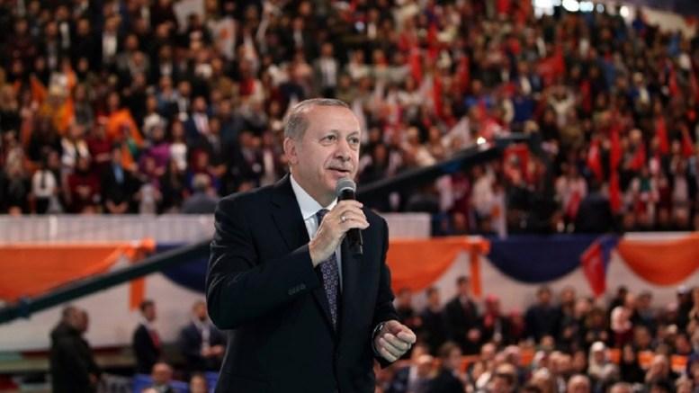 Ο Πρόεδρος της Τουρκίας Ταγίπ Ερντογάν. Φωτογραφία Τουρκική Προεδρία