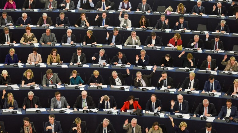 Members of Parliament vote at the European Parliament in Strasbourg, France. FILE PHOTO, EPA, PATRICK SEEGER