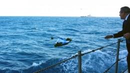 "File Photo: Ο υπουργός Εθνικής Άμυνας, Πάνος Καμμένος (Δ), ο Αρχηγός ΓΕΝ, Αντιναύαρχος Νικόλαος Τσούνης ΠΝ, ο Κυβερνήτης και το πλήρωμα της Κ/Φ ""ΝΙΚΗΦΟΡΟΣ"", πραγματοποίησαν ρίψη στεφάνου στον τόπο θυσίας των τριών ηρώων Ελλήνων Αξιωματικών του Πολεμικού Ναυτικού, Παναγιώτη Βλαχάκου, Χριστόδουλου Καραθανάση, Έκτορα Γιαλοψού, στο θαλάσσιο χώρο των Ιμίων. ΑΠΕ- ΜΠΕ, ΓΡΑΦΕΙΟ ΤΥΠΟΥ ΥΠΕΘΑ, STR"