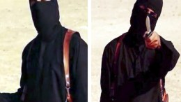 A file composite image showing two still frames from a video released by the Islamic State (IS) showing IS militant known as 'Jihadi John' and identify as British, Mohammed Emwazi, who was born in Kuwait and is from London, Britain. Pentagon Press Secretary Peter Cook stated on 12 November 2015 that US forces conducted an airstrike in Raqqa, Syria, on 12 November 2015 targeting Mohamed Emwazi, also known as 'Jihadi John.' 'Emwazi, a British citizen, participated in the videos showing the murders of U.S. journalists Steven Sotloff and James Foley, U.S. aid worker Abdul-Rahman Kassig, British aid workers David Haines and Alan Henning, Japanese journalist Kenji Goto, and a number of other hostages.' EPA, ISLAMIC STATE VIDEO  HANDOUT, ATTENTION EDITORS : EPA IS USING AN IMAGE FROM AN ALTERNATIVE SOURCE AND CANNOT PROVIDE CONFIRMATION OF CONTENT, AUTHENTICITY, PLACE, DATE AND SOURCE