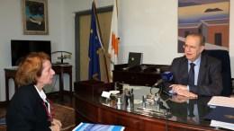Ο Υπουργός Εξωτερικών κ. Ιωάννης Κασουλίδης παραχωρεί συνέντευξη Τύπου, Λευκωσία 21 Φεβρουαρίου 2018. ΚΥΠΕ, ΚΑΤΙΑ ΧΡΙΣΤΟΔΟΥΛΟΥ