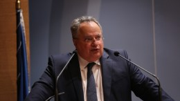 Η διαφωνία με τα Σκόπια θα διευθετηθεί έως τον Ιούνιο, δήλωσε ο υπουργός Εξωτερικών. Φωτογραφία ΚΥΠΕ