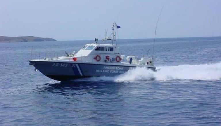 Σκάφος του Λιμενικού Σώματος πλέει με ταχύτητα. FILE PHOTO. Λιμενικό Σώμα - Ελληνική Ακτοφυλακή.