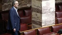 Ο πρώην πρωθυπουργός Αντώνης Σαμαράς. ΑΠΕ-ΜΠΕ/ΑΠΕ-ΜΠΕ/ΑΛΕΞΑΝΔΡΟΣ ΒΛΑΧΟΣ