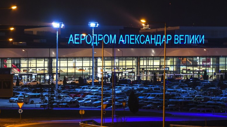 """File Photo: A general view on the """"Alexander the Great Airport"""" (""""Aleksandar Veliki Airport"""") near the capital of Skopje, The FYROM. Fyromian Government made a decision to rename the """"Alexander the Great Airport"""" to 'Skopje International airport' and """"Highway Alexander of Macedonia Highway"""" leading to the Greek border to 'Friendship Highway'. EPA, GEORGI LICOVSKI"""