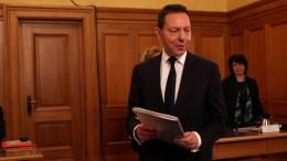 Ο διοικητής Της Τράπεζας της Ελλάδας Γιάννης Στουρνάρας παρουσιάζει την έκθεση του στην ΓΣ των μετόχων της, Δευτέρα 26 Φεβρουαρίου 2018. ΑΠΕ-ΜΠΕ, ΟΡΕΣΤΗΣ ΠΑΝΑΓΙΩΤΟΥ