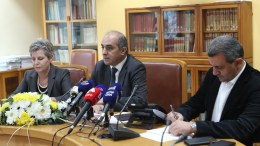 Ο Πρόεδρος της Βουλής των Αντιπροσώπων κ. Δημήτρης Συλλούρης παραχωρεί συνέντευξη Τύπου. FILE PHOTO, ΓΤΠ, Χ.ΑΒΡΑΑΜΙΔΗΣ, ΚΥΠΕ