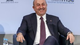 Mevluet Cavusoglu, Minister of Foreign Affairs of Turkey, during the 54th Munich Security Conference (MSC), in Munich, Germany, 18 February 2018. EPA, RONALD WITTEK
