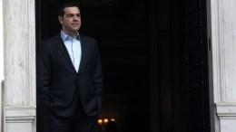 Greek Prime Minister Alexis Tsipras at the Maximos Mansion in Athens, Greece. EPA, SIMELA PANTZARTZI