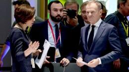 Mr Donald TUSK, President of the European Council. Shoot location: Bruxelles - BELGIUM  Shoot date: 23/02/2018 Copyright: European Union