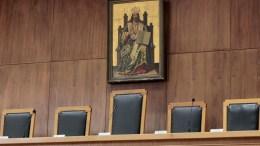 FILE PHOTO: Η ετυμηγορία του Μικτού Ορκωτού Δικαστηρίου Θεσσαλονίκης ήταν ομόφωνη ως προς την ενοχή του δολοφόνου λέκτορα του ΑΠΘ.  ΑΠΕ-ΜΠΕ, Παντελής Σαίτας