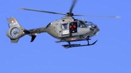 Ελικόπτερο της ελβετικής αστυνομίας περιπολεί EPA, LAURENT GILLIERON