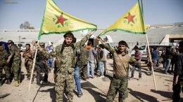 Κούρδοι μαχητές του YPG. Φωτογραφία via Twitter