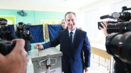 Ο υποψήφιος πρόεδρος της Κύπρου Σταύρος Μαλάς. Φωτογραφία Αρχείου, ΚΥΠΕ.