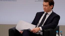 Federal Chancellor of the Republic of Austria, Sebastian Kurz.  17 February 2018 EPA, RONALD WITTEK