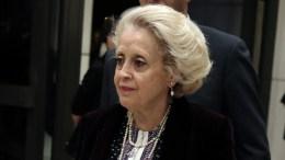 FILE PHOTO: H πρώην πρόεδρος του Αρείου Πάγου και νυν νομική σύμβουλος του Πρωθυπουργού, Βασιλική Θάνου. ΑΠΕ-ΜΠΕ, ΣΥΜΕΛΑ ΠΑΝΤΖΑΡΤΖΗ