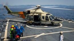 File Photo: Ελικόπτερο της Κυπριακής Δημοκρατίας σε άσκηση έρευνας και διάσωσης σε συνεργασία με το ναυτικό των ΗΠΑ. Φωτογραφία, Υπουργείο Άμυνας Κυπριακής Δημοκρατίας