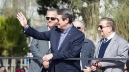 Ο Πρόεδρος της Δημοκρατίας κ. Νίκος Αναστασιάδης δίνει την εκκίνηση του 12ου ΟΠΑΠ Μαραθωνίου Λεμεσού.